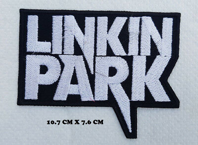 Linkin Park Rock Metal Music Band Embroidered Iron on Sew on Patch Badge #435
