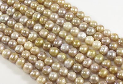 20-22 mm Large Hole Jumbo Natural Seaweed Flat Coin Pearl Beads,2.1mm Hole #656