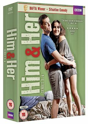 Him and Her: Series 1-4 [DVD]