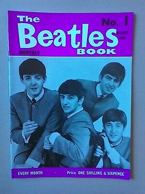 BEATLES BOOK MONTHLY No 1 AUGUST 1963 (Second Print)