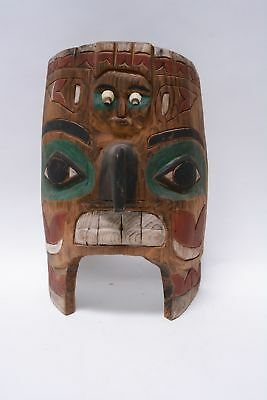 Tsimshian Carved and Painted Mask - Mid 20th Century