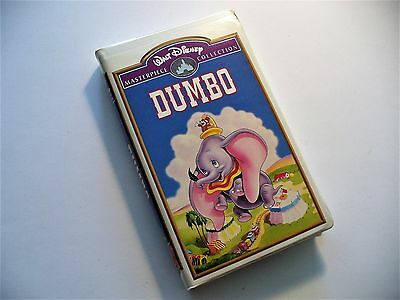 DUMBO VHS Walt Disney Masterpiece Collection (Mint condition-Like New) rare item