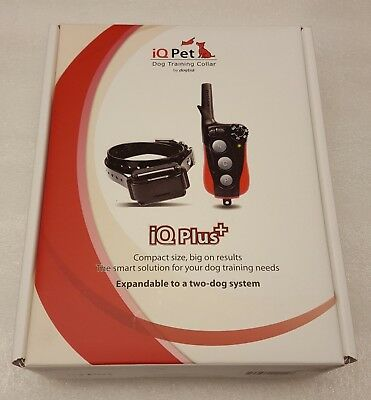 Dogtra iQ Plus Electronic Dog Collar w/ Remote for Dogs 10+ lbs - iQ Plus+