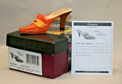 JUST THE RIGHT SHOE by Raine Willitts Designs Step Into Nature PREDATOR 2006