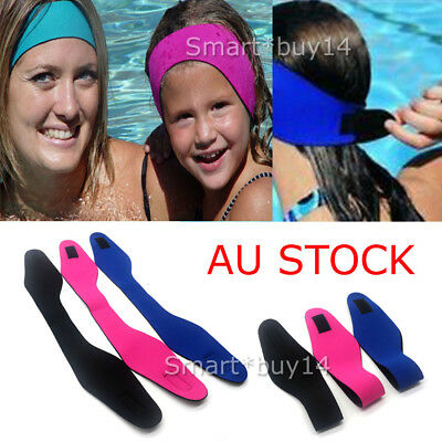 Children's Adult's Swimming Ear Head Band Neoprene Wetsuit Head Bands Swimming K