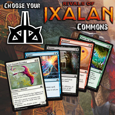 Choose Your Rivals of Ixalan Common Playset (x4 cards) - RIX MTG Cards M/NM