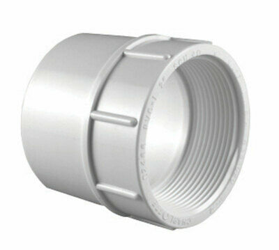 """Charlotte Pipe Adapter 3/4 """" Fpt 3/4 """" Pvc Schedule 40 Pack of 25"""