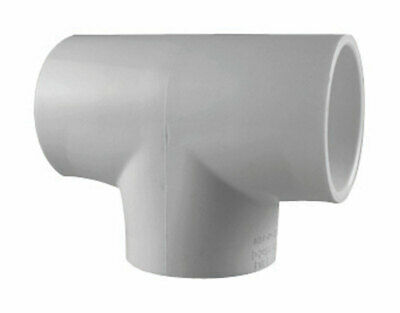 "Charlotte Pipe Tee 3/4 "" Pvc Schedule 40 Pack of 25"