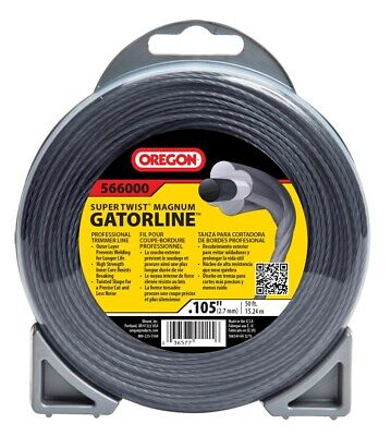 "Oregon 566000 .105"" X50' Super Twist Magnum Gatorline"