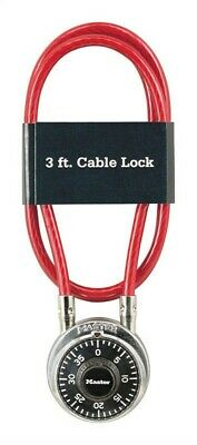 Master Lock 1519D Combination Padlock & Cable