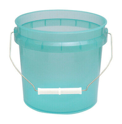 Leaktite Green Transparent Paint Pail 1 Gl Pack of 12