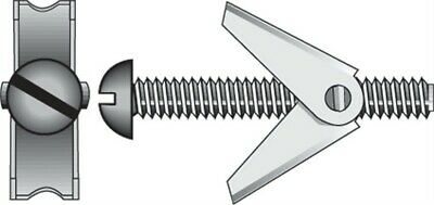 "Hillman Toggle Bolt 1/8 "" X 3 "" 50 Lb. 2/Card Pack of 10"