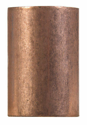 "Elkhart Coupling 2 "" Wrot Copper Bagged Pack 1"