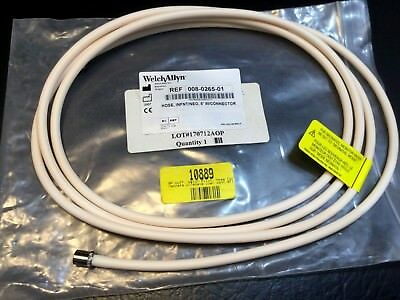 Welch Allyn 008-0265-01 8ft Infant/Neo Hose w connector  Blood Pressure  kp