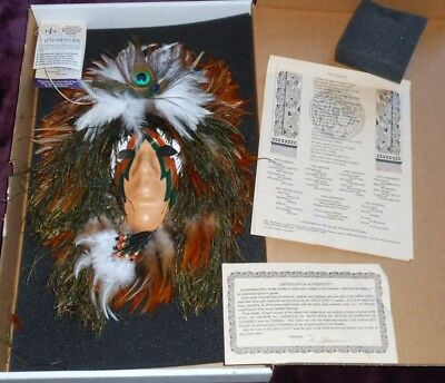SHAMAN'S Medicine Mask THE GUARDIAN by R. W. ADAMSON Native American Indian