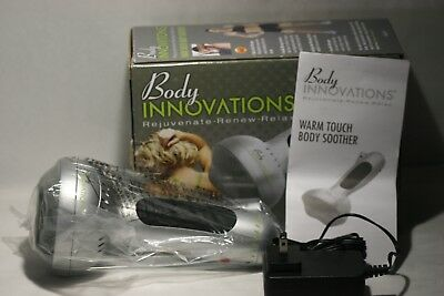 Rare Body Innovations  Massager Warm Touch Body Shoother  New with Box
