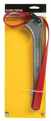 Klein Tools  Grip-It  Adjustable Strap Wrench  1 pc.