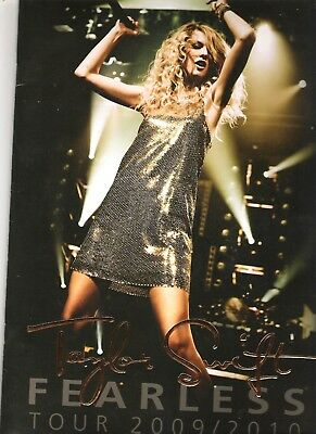 Tour Concert Program - Taylor Swift - Fearless 2009/10