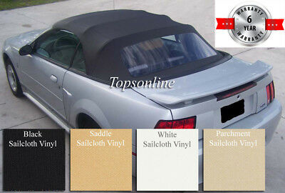 5051fa1bd2b7 Ford Mustang Convertible Soft Top With Plastic Window   Video Sailcloth 1994 -04