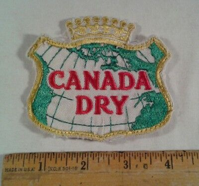 Vintage Canada Dry Patch Advertising Cola