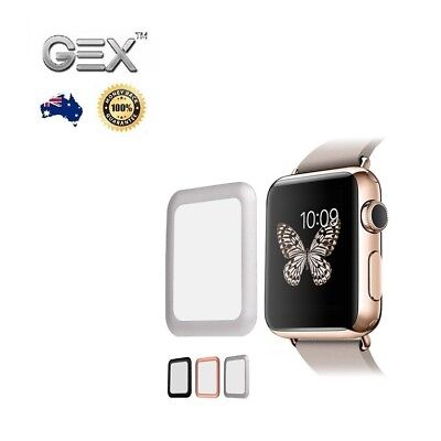 3D Full Glue Screen Protector for Apple iWatch 4 3 2 1 38 42 40 44mm Waterproof