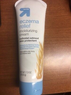 Up & Up Eczema Therapy Moisturizing Cream For Sensitive Skin, 7.3 Oz New