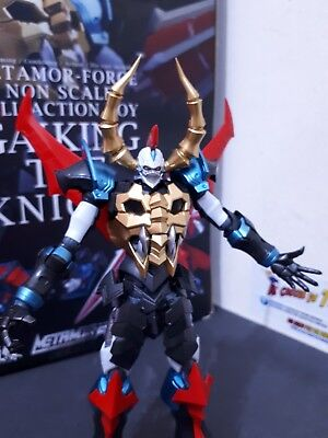 GAIKING THE KNIGHT DIE-CAST METAMOR-FORCE only Japan Toei Animation completo