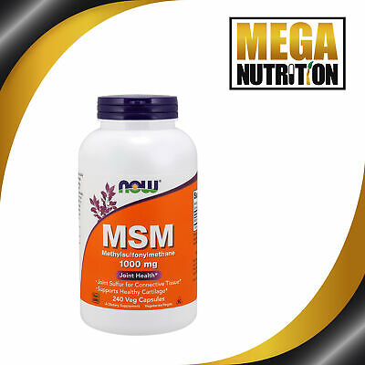 Now Foods MSM 1000mg x240caps - Hair Skin Nails LOOK