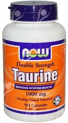 Now Foods, Taurine, Double Strength - 1000mg x100caps