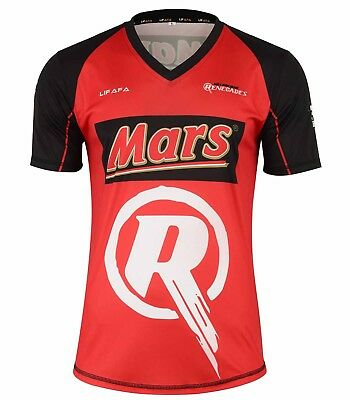New Style Big Bash Replica T20 Team Sports T Shirts Melbourne Renegades Shirts