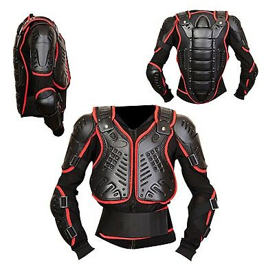 Motocross Dirt Bike Body Armour Jacket Chest Spine Quad Motorcycle Protection