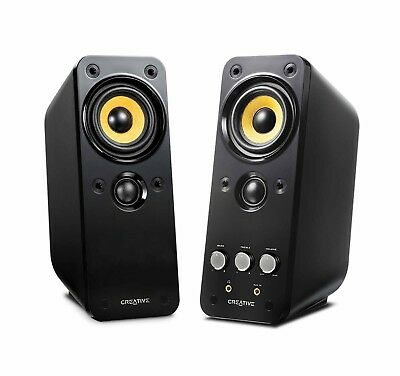 Professionally Tuned Stereo Speaker System Creative T20 GigaWorks Series II 2.0