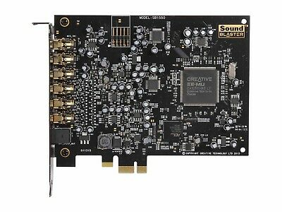 Creative Sound Blaster Audigy RX PCI Express Internal High Quality Sound Card