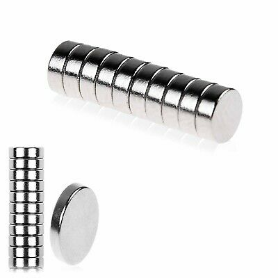 Strong Small Disc Magnets Round Rare Earth Neodymium 5x2mm Fridge Magnet