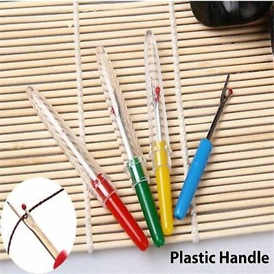 4X Colorful Seam Stitch Ripper Unpicker Thread Cutter Sewing Tool