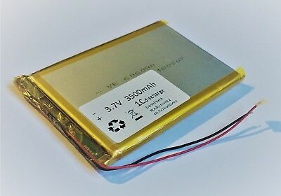 Lithium Polymer LiPo Batterie Akku 3500mAh 3.7 V 1S Powerbank PCB Tablet 14