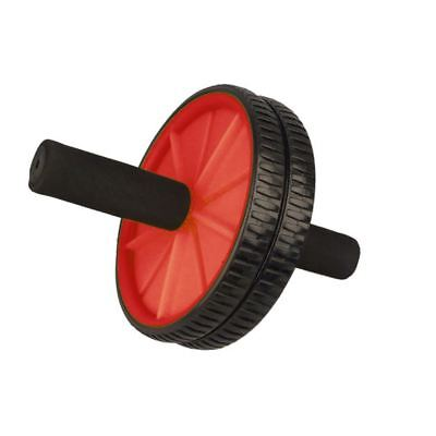 Abs Wheel Exercise Gym Roller Abdominal Core Exerciser Fitness Trainer Red