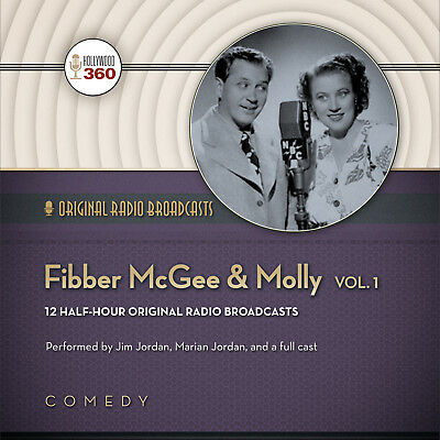 Fibber McGee & Molly, Vol. 1 by  Hollywood 360 2014 Unabridged CD 9781482957433