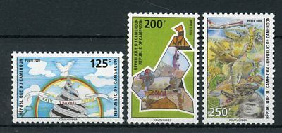 Cameroon Cameroun 2000 MNH Natl Symbols 3v Set Wild Animals VERY RARE Stamps