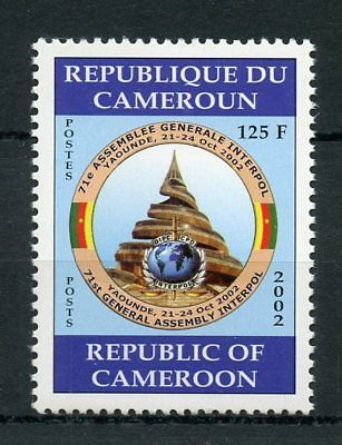 Cameroon Cameroun 2002 MNH INTERPOL 71st Assembly 1v Set Police Stamps