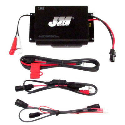 J&M Audio 180 Watt 2 Channel Performance Amp Kit 2015 & Newer Harley Road Glide