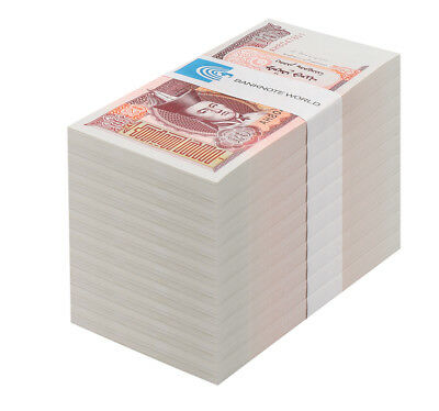 Mongolia 20 Tugrik X 1,000 Pieces - 1000 PCS, 2013, P-63, UNC, Brick