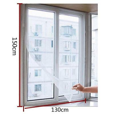 Mosquito Window Net Mesh Screen Fly Insect Curtain Anti Bug Protector Proof Moth