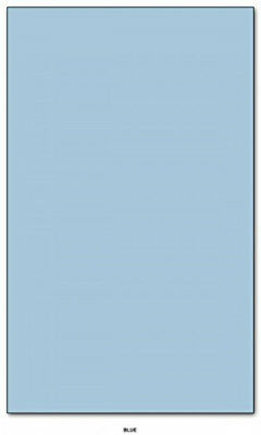"""Pastel Blue - Pastel Color Card Stock Paper Legal Size 8.5"""" X 14"""" Pack of 50"""