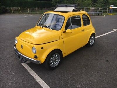 1971 fiat 500 with MOT very special quick little car