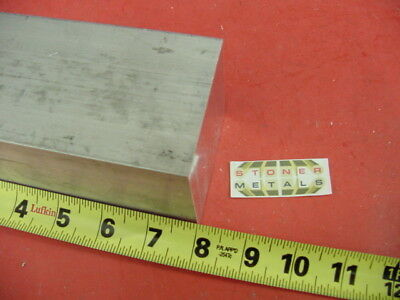"2-3/4"" X 2-3/4"" ALUMINUM 6061 SQUARE SOLID BAR 8"" long T6511 Flat Mill Stock"