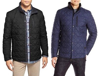 Victorinox Swiss Army Men's Bernhold Quilted Over-Shirt Jacket - Size X-Large