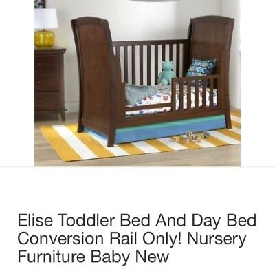 Elise Toddler Bed And Day Bed Conversion Rail Only! Nursery Furniture Baby New