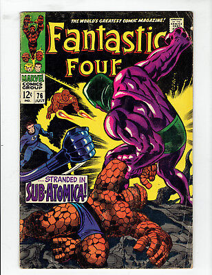 Fantastic Four #76 in gd condition or better