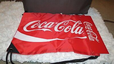 Coca Cola Coke Red Drawstring Bag NWT